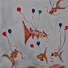 Koi Fish Birthday  by sasparilla