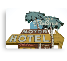 The Palms right. Canvas Print