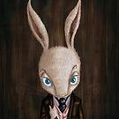 'Mr Bernard Cottontail' by Jodee Taylah