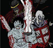 undead warriors by korosukun