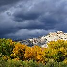 Split Mountain Autumn by Kim Barton
