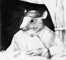 Portrait of a Renaissance Rat by Nestor