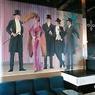 A Mural on the Wall of a Cruise Ship Entertainment Room. by Mywildscapepics