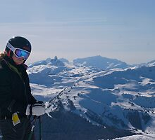 On Top of Whistler/Blackcomb by ScottPhotos