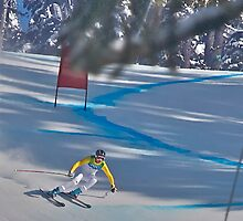 Men's Olympic Downhill 3 by ScottPhotos