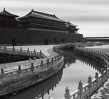 Tiananmen Gate - Forbidden City - Beijing by Mark Bolton