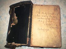 My Mother's Bible a B'day gift 10/10/1910 by EdsMum