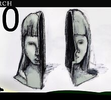 March 10th - Gemini by 365 Notepads -  School of Faces