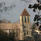 Eglise St.Hilaire by Pamela Jayne Smith