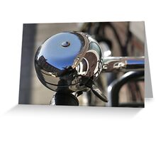 Big bike bell (and me) Greeting Card