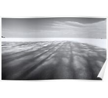 Field of Shadow - Winter Landscapes Poster