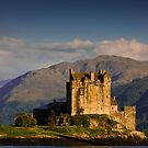 Castle Eilean Donan by Gabor Pozsgai