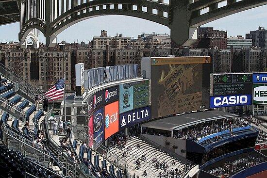 New Stadium, Old Bronx by mikepaulhamus