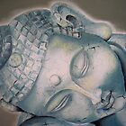 """Sleeping Buddha"" Close up by Taniakay"