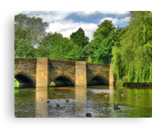 Bakewell Bridge Canvas Print