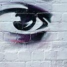 Serious Graffiti Eye by yurix