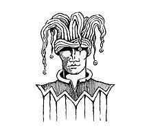 The Blind Joker Photographic Print