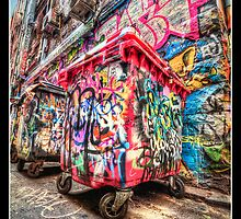 Colourful Garbage by AliCPhotography