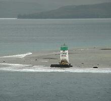 Bonne Anse Lighthouse near Noumea. by Mywildscapepics