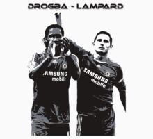 Drogba Lampard T Shirt by kmercury