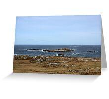 Atlantic Coast - Donegal Greeting Card