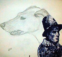 Snarling Dog by JETIII