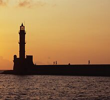Crete Sunset by jnmayer