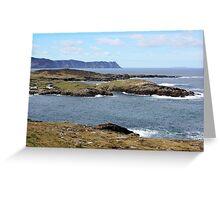Rugged Donegal Coast Greeting Card
