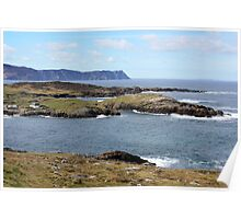 Rugged Donegal Coast Poster