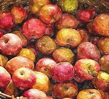 Apple Basket 1 by Christopher Johnson