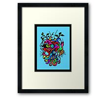 Vivid Imagination Framed Print