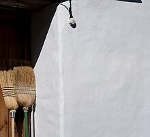 Two Brooms, Casares by Liza Kirwan