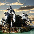 Garonne and Quadriga by KERES Jasminka
