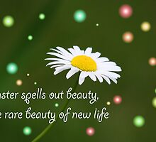 Easter Spells Out Beauty by Vickie Emms