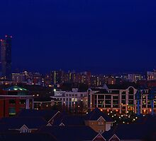 SALFORD'S NIGHT LIGHTS by MIKESCOTT
