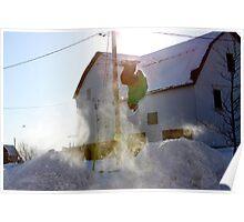 Ski Backflip Poster