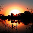 Circular Sunset by Marina Raspolich