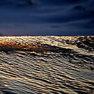 Sunset on ice by Bluesrose
