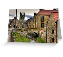 Helmsley - North Yorkshire Greeting Card