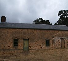 Morialta Barns I by agentsmith