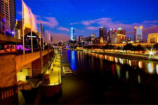 The Colours of Melbourne by David  Hibberd