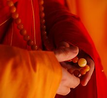 Buddhist Prayer Beads by RONI PHOTOGRAPHY