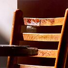 Patched Coffeehouse Chair by Jay Gross