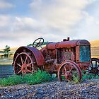 Old tractor by bettywiley