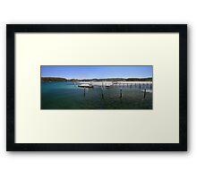 Fishing paradise at Narooma Framed Print