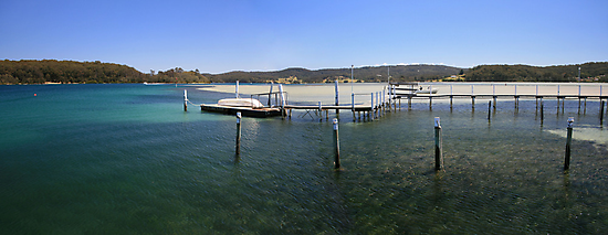 Fishing paradise at Narooma by Robyn Selem