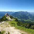 The Eagles Nest overlooking Saltzburg by CreativeUrge