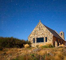 Church Of The Good Shepherd - Lake Tekapo NZ by Centralian Images