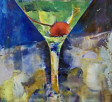 Summer Breeze Martini by Michael Creese