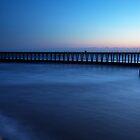 Whitby blue Sunrise by Carl Mickleburgh